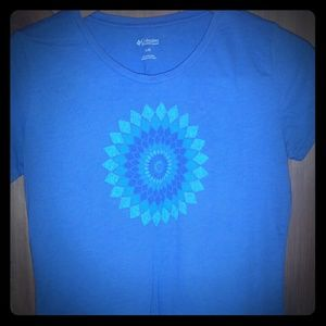 COLUMBIA Shirt Women's Size M Cotton